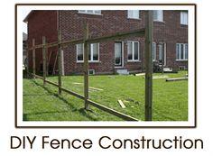 DIY Fence Construction
