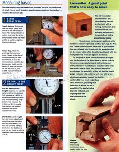 #1046 Lock Miter Bit Setup - Joinery Tips, Jigs and Techniques