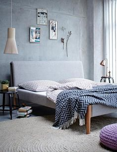 GroBartig Grau Als Wandfarbe: Die Farbe Grau Im Schlafzimmer