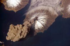 Volcán Cleveland. Islas Aleutianas. Alaska USA