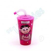 Copo 3D Turma da Mônica - Magali Candy (Pink)