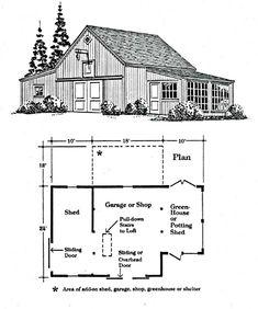Small Barn Plans, Pole Barn Plans, Pole Barn Garage, Farm Plans, Cabin Plans, Garage Building Plans, Building A Pole Barn, Garage Plans, Barn Apartment Plans