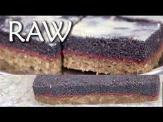 Makový řez - RAW recept - 2. díl maková náplň