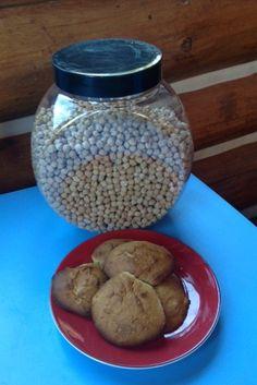 Banana Chickpea Flour Cookies (Gluten-Free)