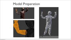 Kinect – Skeletal Tracking Skeletal tracking allows the Kinect to map a person's movements to a skeletal rig in a 3D model. There are different skeletal tracking options. For this project, we were able to find an open-source solution that used OpenNI, and PrimeSense's NiTE skeletal viewer (with an educational license provided.) This allowed us to rig up the model's with skeletons