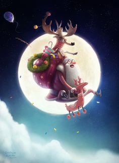 moon, Aleksey Baydakov on ArtStation at https://artstation.com/artwork/moon-63b5f943-871f-4d06-8153-9ee679dd43fb