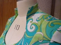 collar 3 Rhonda Buss the Raised Collar Neckline Tutorial!