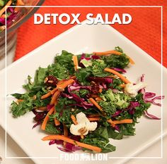 This fresh salad is like hitting the reset button after heavy holiday meals. Packed with nutrients and colorful to boot, it's just the thing to get you back in the healthy eating grove in the new year. And if you use pre-cut veggies, it only takes a few minutes to throw together.
