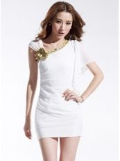 Sexy Style sloping shoulder Slim Wrap Dress US$ 5.71 http://www.global-wholesale.net/Sexy-Style-sloping-shoulder-Slim-Wrap-Dress-_g33901.html
