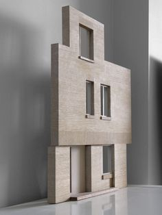 McLaren.Excell - Carpenter Estate #maquette #baksteen #textuur #compositie #gevel