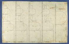 Томас Чиппендейл | Підстави колон, в Чиппендейл креслень, Vol. I | Met