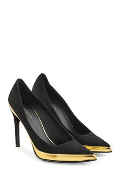 Suede and Leather Pumps | Balmain