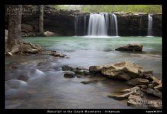 Arkansas Waterfalls Landscape photography #clickaway #clickinmoms