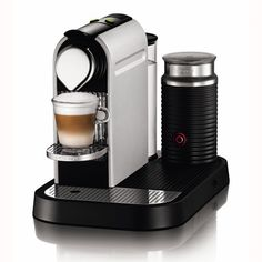 We own one of these at home and can't live without it! Nespresso Citiz & Milk in Frosted Aluminum