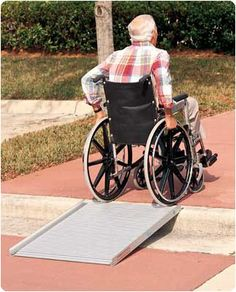lightweight portable wheelchair ramps