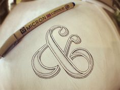 Could be a lovely tattoo? Ornate Ampersand Concept by Sean McCabe