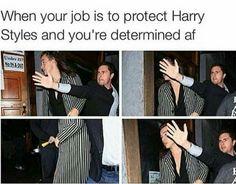Harrys face lol