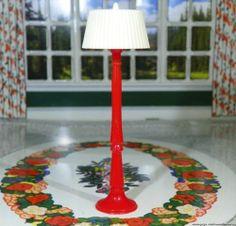 Renwal-FLOOR-LAMP-MINT-Vintage-Dollhouse-Furniture-3-4-fits-Ideal-Marx