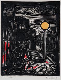 O Ladrão - Oswaldo Goeldi