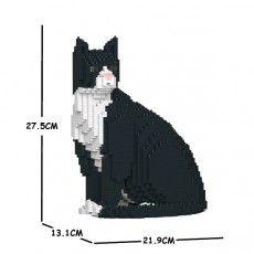 This one, the Tuxedo Cat Lego Animals, Cat Lovers, Sculptures, Batman, Tuxedo Cats, Kitty, Superhero, Gift Ideas, Fictional Characters