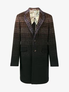 Nice gradient check coat by ETRO (AW1718)