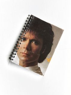Record Sleeve Notebook  A6  Cliff Richard  by melodiesjewellery