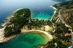 Alyki - This is one of the most popular beaches in Thassos