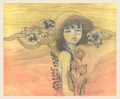 Paintings by Audrey Kawasaki (14 Pics)