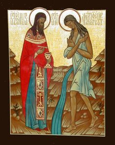 The life of St. Mary of Egypt which is read during the canon of St. Andrew in tube 5th week of Lent.