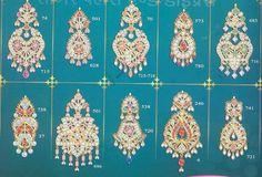 Rajputi earrings.