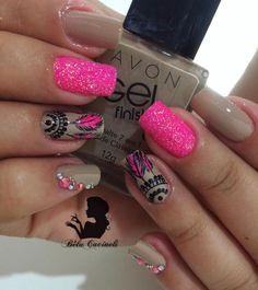 "183 Likes, 1 Comments -  Nails by Béla Cacineli  (@belacacineli) on Instagram: ""Nails da linda Tainara Pedrarias @tata_customizacao_e_cia www.tatacustomizaçãoecia.com.br"""