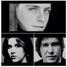 Super young Star Wars cast - Mark Hamill, Carrie Fisher, and Harrison Ford Star Wars Cast, Leia Star Wars, Mark Hamill Carrie Fisher, Tv Show Casting, Hayden Christensen, Star Wars Pictures, Original Trilogy, Harrison Ford, Great Films