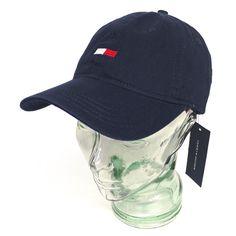 Tommy Hilfiger トミーヒルフィガー ストラップバック ベースボールキャップ 帽子 [002]