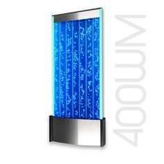 """Wall Mount LED Bubble Wall Indoor Fountain Water Feature 45"""" 400WM"""