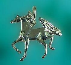 The Gorgeous Horse Jewelry! - Arabian Pendant JET3031SS