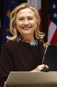 Hillary Clinton, the Secretary of State, and one of the most well-respected members of the US government.