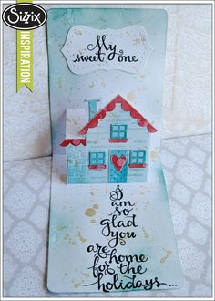 Sizzix Die Cutting Inspiration   Home for the Holidays by Mou Saha