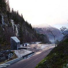 Skjervsfossen by Østengen & Bergo AS