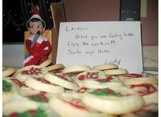 Elf on the Shelf bakes