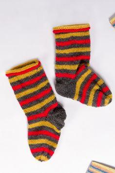 Kostenlose Strickanleitung für Socken - Initiative Handarbeit