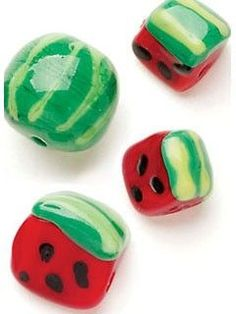 Watermelon Beads | InterweaveStore.com: