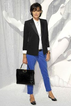 Ines de La Fressange Pictures - Style File and Fashion | British Vogue