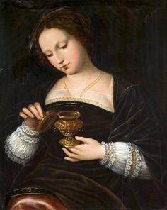 Italian Renaissance, Renaissance Art, Renaissance Costume, Renaissance Clothing, Andromeda Constellation, Tom Lovell, Mary Magdalene, Italian Painters, Art Graphique