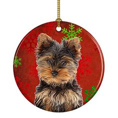 ORNAMENTS DELIGHTFUL BRAND NEW CHRISTMAS PUG AND YORKSHIRE TERRIER DECORATIONS