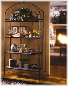 baker's rack Bakers Rack, Liquor Cabinet, Beautiful Places, Outdoors, Indoor, Diy, Furniture, Home Decor, Dining Rooms