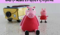 How to make a Peppa Pig Figurine - easy!