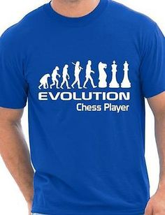 Evolution of #chess #player funny adult mens t-shirt birthday gift size #s-xxl, View more on the LINK: http://www.zeppy.io/product/gb/2/291083094818/