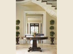 Tommy Bahama Home, Island Traditions collection, Isleworth Round Dining Table - Lexington Home Brands