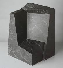 a muted palette - inspiration-is-all-around: BLOCK FACES Abstract Sculpture, Sculpture Art, Stone Sculptures, Powerful Art, Steel Sculpture, Web Design, Land Art, Wire Art, Installation Art