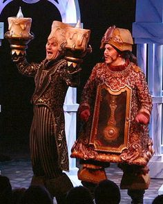 cogsworth costume | Beauty and the Beast, Broadway